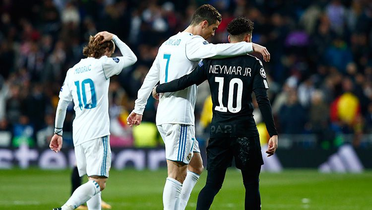 Neymar dan Real Madrid. Copyright: © Marca