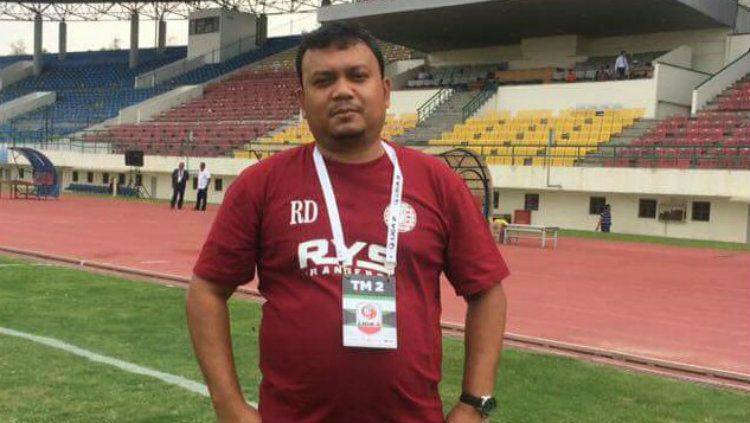 Sekretaris Umum Persiraja Banda Aceh, Rahmat Djailani. Copyright: © Aceh Football