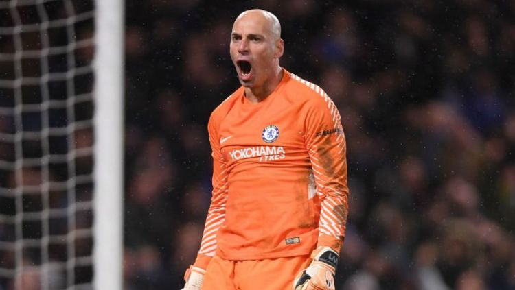 Penjaga gawang Chelsea, Willy Caballero Copyright: © Getty Images