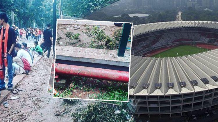 Stadion Gelora Bung Karno. Copyright: © INDOSPORT