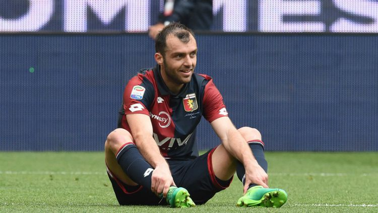 Goran Pandev, striker Genoa Copyright: © corrieredellosport.it