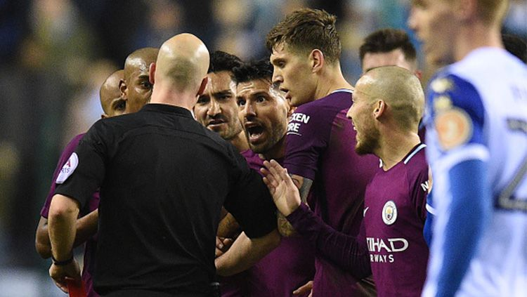 Wigan vs Man City Copyright: © INDOSPORT