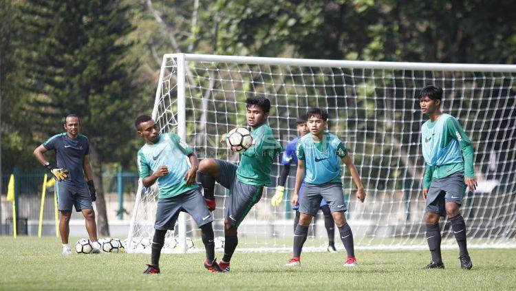 Timnas U-19. Copyright: © Herry Ibrahim/Indosport.com