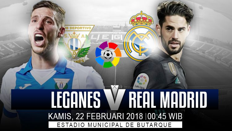 Prediksi Leganes vs Real Madrid. Copyright: © INDOSPORT