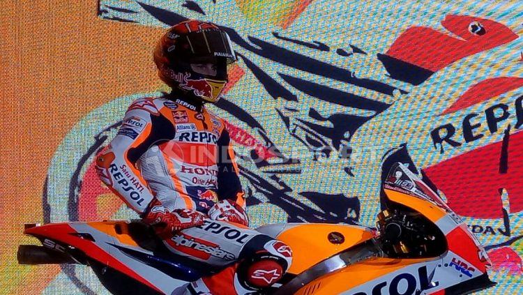 Marc Marquez Copyright: © Annisa Hardjanti/Indosport.com