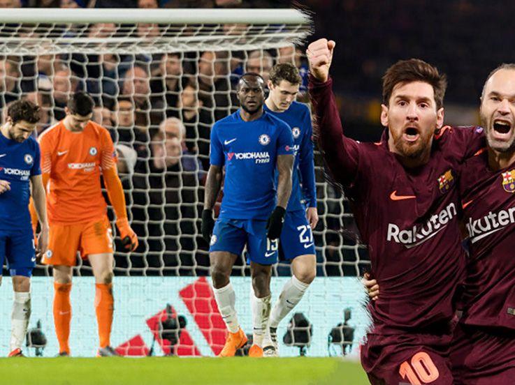3 Fakta Menarik Pertandingan Chelsea vs Barcelona