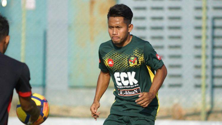 Andik Vermansah saat menjalani latihan bersama Kedah FA. Copyright: © Ofisial Kedah FA