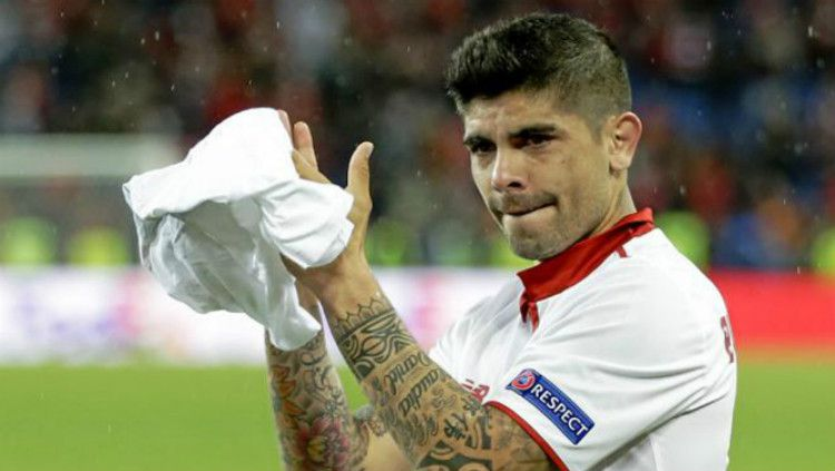 Pemain Sevilla, Ever Banega Copyright: © MARCA