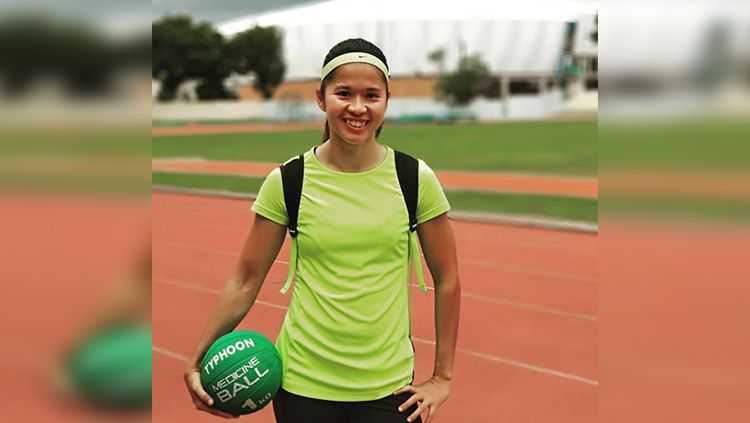 Lusiana Satriani, sprinter asal Sumatera Barat. Copyright: © Instagram