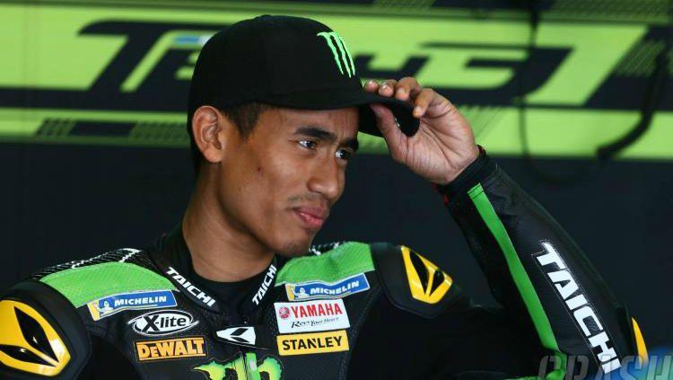 Pembalap asal Malaysia, Hafizh Syahrin. Copyright: © Indosport.com