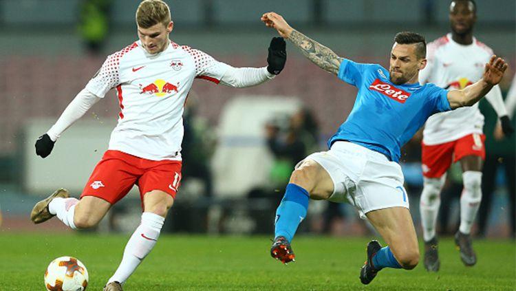 RB Leipzig vs Napoli Copyright: © INDOSPORT