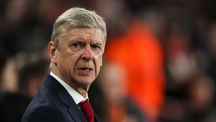 Pelatih kepala Arsenal, Arsene Wenger Copyright: © INDOSPORT