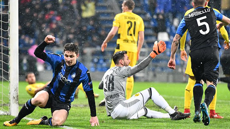 Atalanta vs Borussia Dortmund Copyright: © INDOSPORT