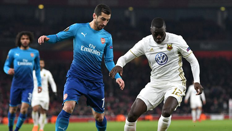 Arsenal vs Ostersunds Copyright: © Getty Images