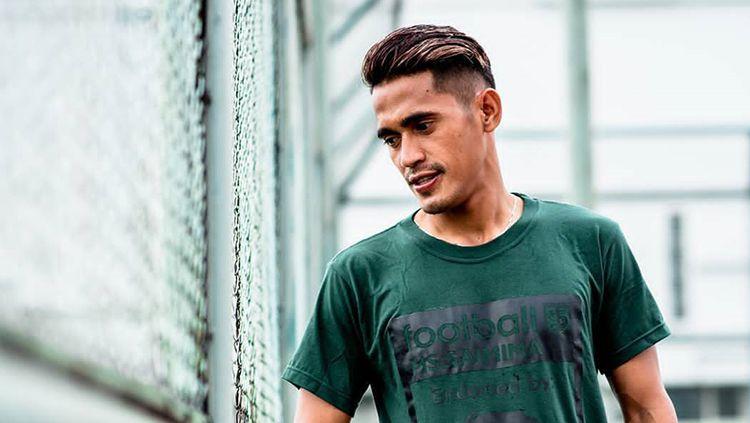 M Sidik Saimima, pemain baru klub Liga 1, Bali United. Copyright: © Instagram