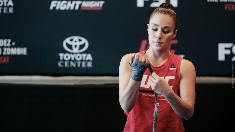 Alexa Grasso, Petarung Wanita yang Miliki Wajah Imut dan Tubuh Kencang Copyright: © MMA Fighting