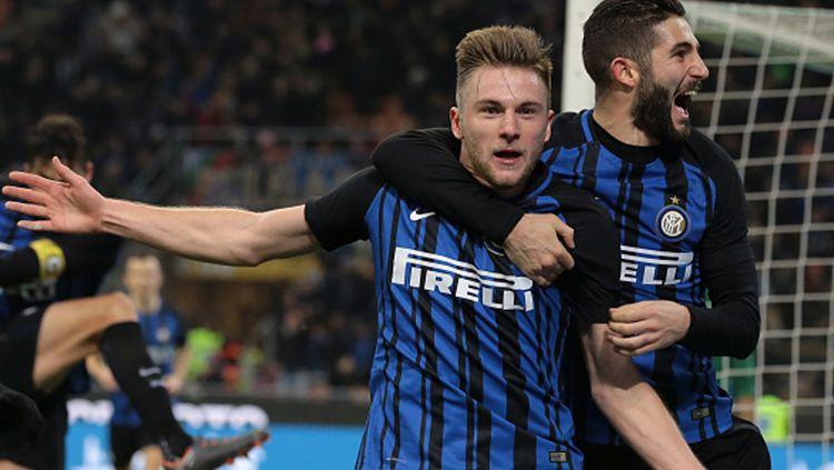 Inter Milan memastikan tidak akan melepas Milan Skriniar ke Tottenham Hotspur di bursa transfer ini. Direktur Piero Ausilio menyebut mereka punya alasan khusus. Copyright: © Getty Images