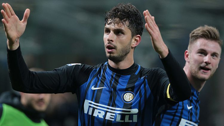 Andrea Ranocchia, bek milik Inter Milan. Copyright: © Getty Images
