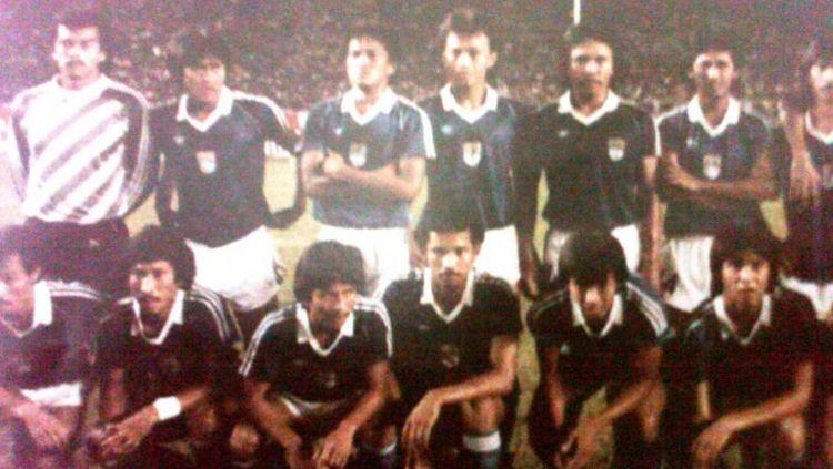 Skuat Persib Bandung tahun 1986. Copyright: © Istimewa