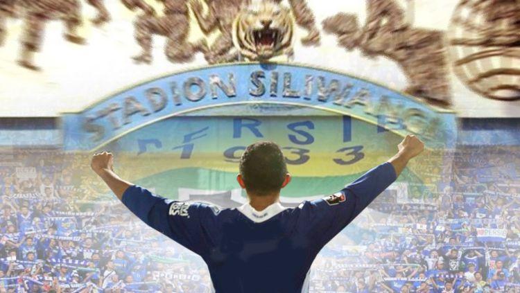 Persib Bandung dan pesona akan Stadion Siliwangi. Copyright: © Grafis: Eli Suhaeli/INDOSPORT