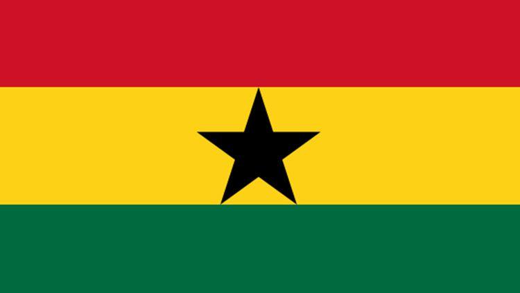 Bendera Ghana. Copyright: © Istimewa