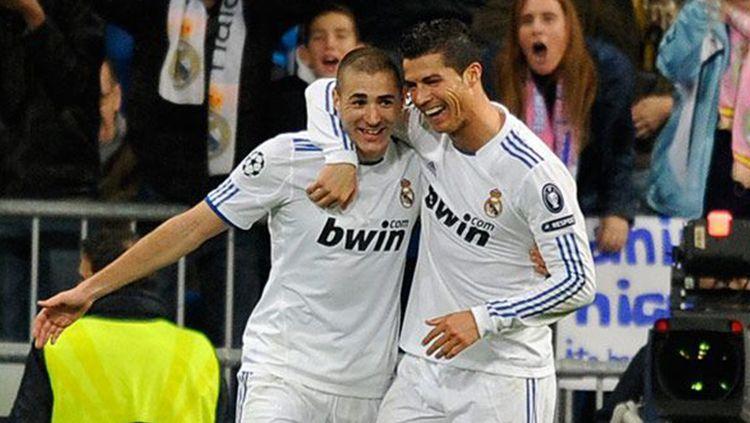 Striker andalan Real Madrid, Karim Benzema. Copyright: © Francesco Pecoraro/Getty Images
