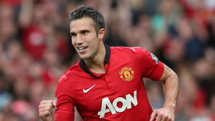 Robin van Persie saat berseragam Manchester United Copyright: © Getty Images