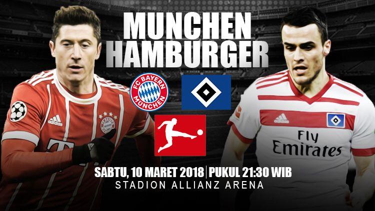 Prediksi Bayern Munchen vs Hamburger. Copyright: © INDOSPORT