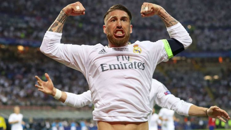 Sergio Ramos, pemain Real Madrid Copyright: © INTERNET