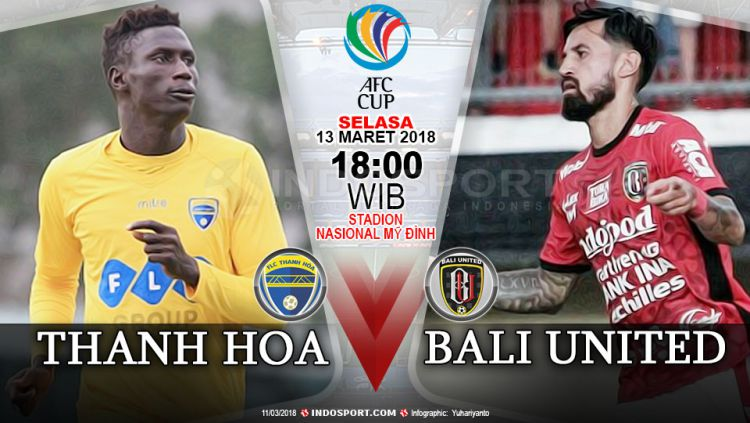 FLC Thanh Hoa vs Bali United Copyright: © Instagram@baliunitedfc