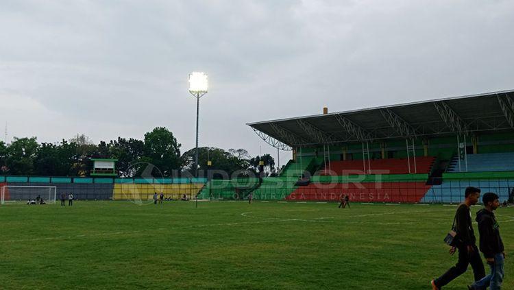 Stadion Teladan Medan. Copyright: © Kesuma Ramadhan/INDOSPORT