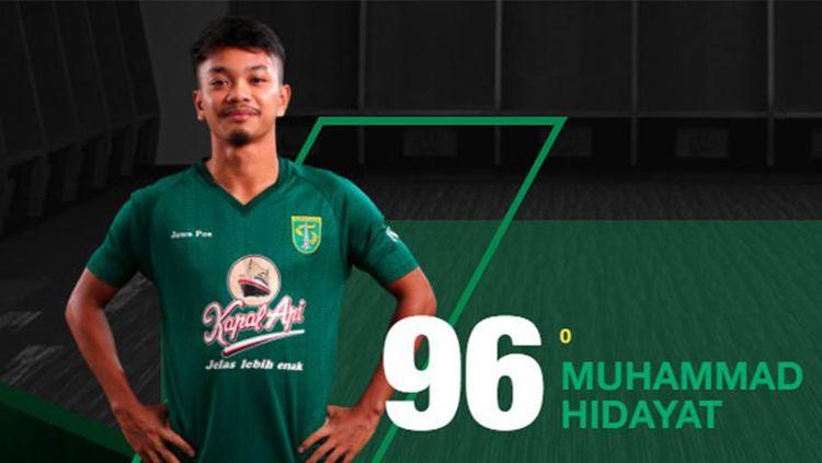 Pemain Persebaya Surabaya, Muhammad Hidayat. Copyright: © Persebaya