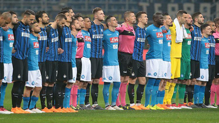 Inter Milan vs Napoli. Copyright: © INDOSPORT