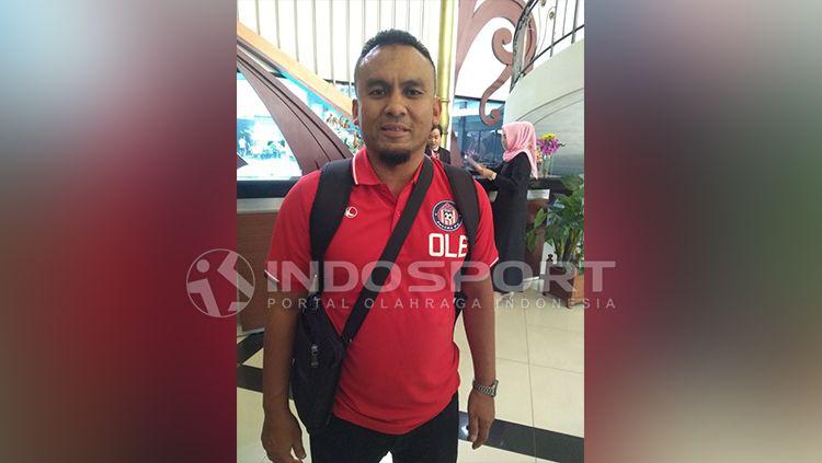 Skuat Felcra FC tiba di Palembang. Copyright: © INDOSPORT/Muhammad Effendi