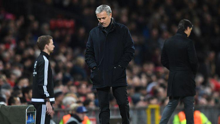 Pelatih Man United, Jose Mourinho. Copyright: © Chris Brunskill Ltd/Getty Images