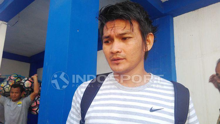 Bobby Satria. Copyright: © Arif Rahman/Indosport.com