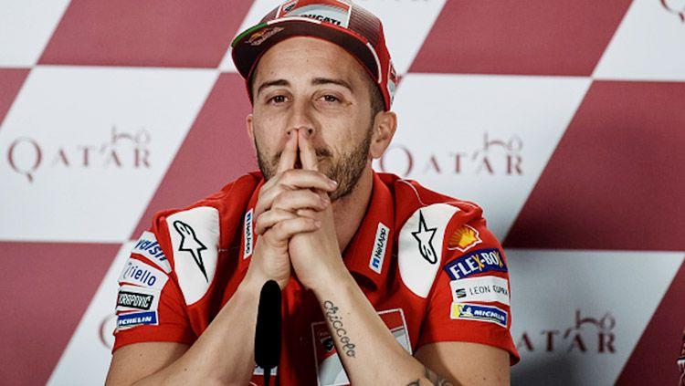 Andrea Dovizioso dianggap sebagai pembalap jenius yang kritis soal hal-hal berbau teknis di MotoGP. Copyright: © Getty Images