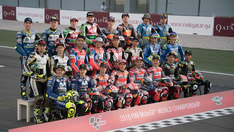 Para Pembalap MotoGP 2018 Copyright: © Getty Images
