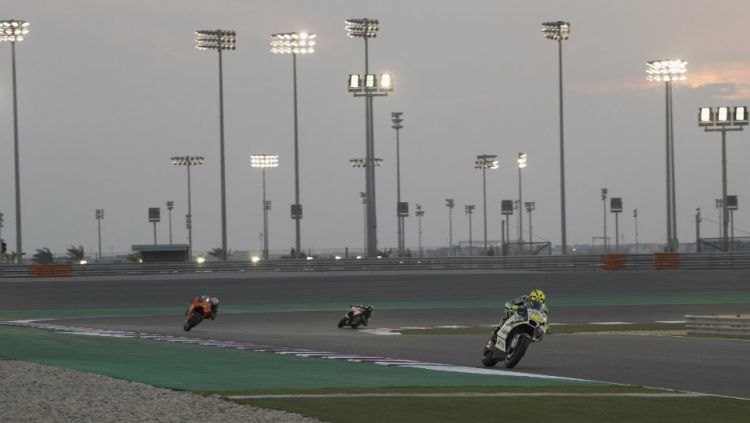 Sirkuit Losail, venue MotoGP Qatar. Copyright: © INDOSPORT