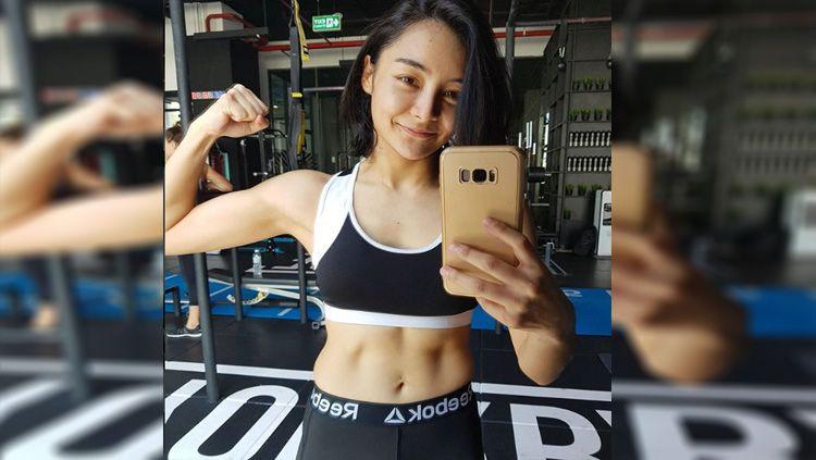 Rika Ishige, atlet MMA cantik asal Thailand. Copyright: © instagram