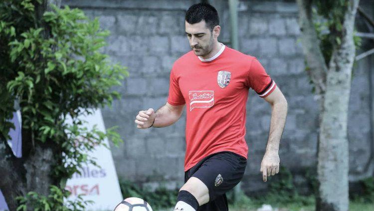 Milos Krkotic, pemain baru Bali United Copyright: © baliutd.com