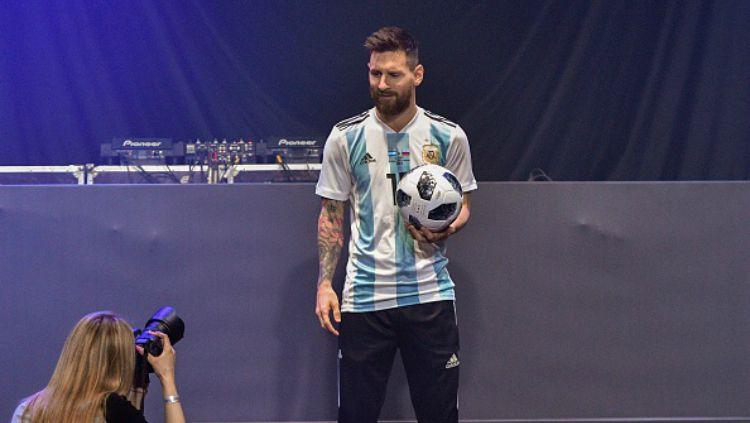 Lionel Messi (Timnas Argentina). Copyright: © Getty Images