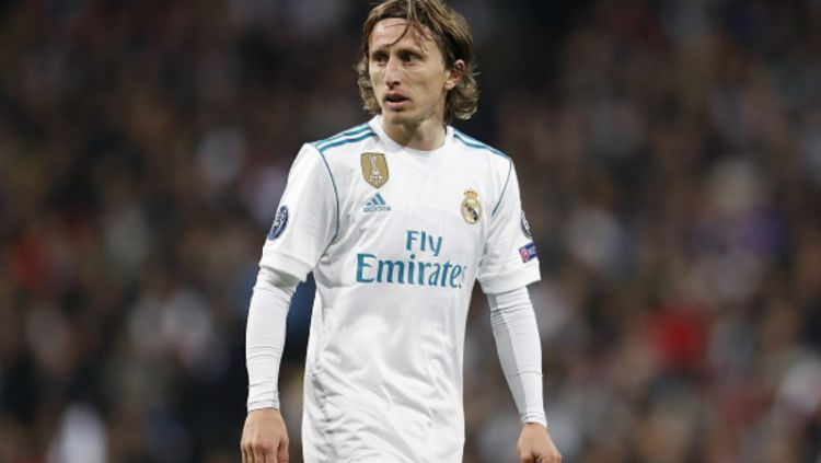 Luka Modric, playmaker Real Madrid. Copyright: © INDOSPORT