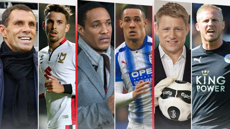 Anak dan Bapak main di Liga Inggris Copyright: © Grafis: Indosport.com