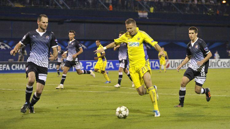 Nikola Komazec, pemain anyar Bhayangkara FC. Copyright: © SCMP
