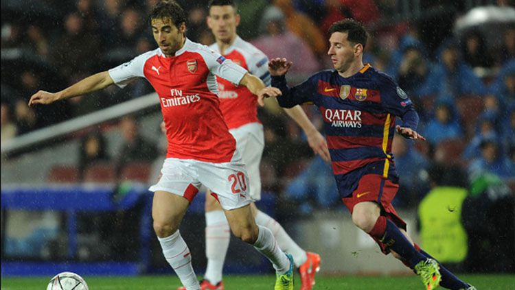 Mathieu Flamini. Copyright: © Internet