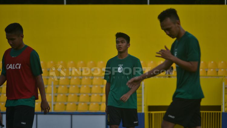Samuel Simanjuntak, salah satu pemain U-19 yang ada di Sriwijaya FC. Copyright: © Muhammad Effendi/INDOSPORT