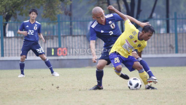 Cilegon United vs Jepang U-19 Copyright: © Herry Ibrahim/INDOSPORT