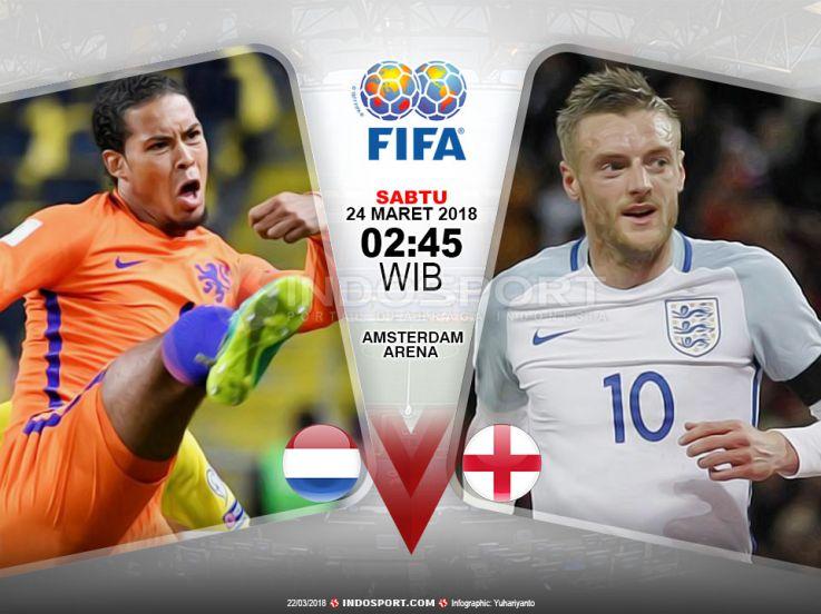 Prediksi Belanda vs Inggris: Adu Gengsi Dua Negara