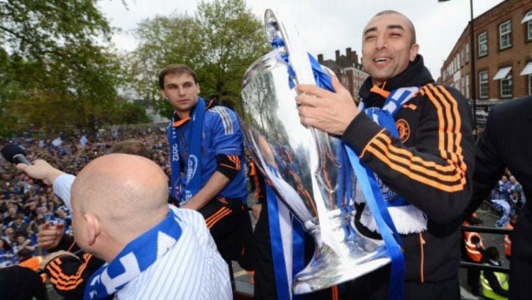 Roberto Di Matteo, mantan pelatih Chelsea yang mempersembahkan gelar Liga Champions di tahun 2012. Copyright: © INDOSPORT